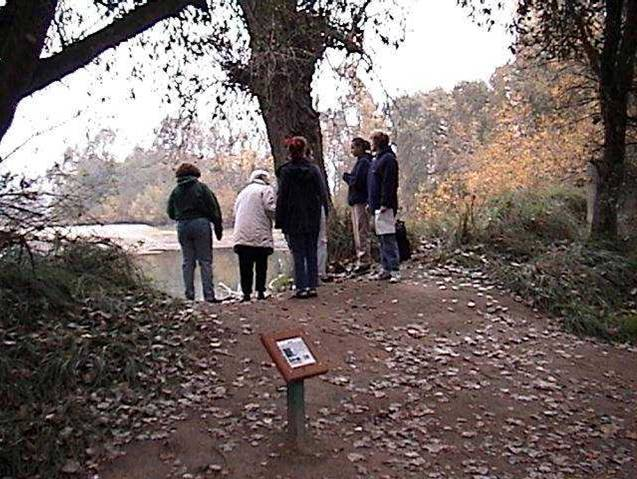 Students Monitoring in Lodi Lake Nature Area