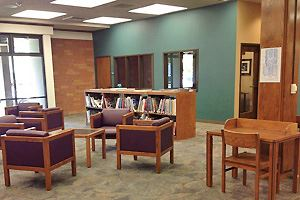 Seating at Lodi Public Library