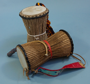 African Village Drums