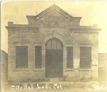 Historic photo of Lodi City Hall